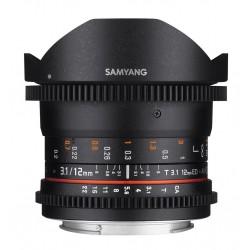 Samyang 12mm T3.1 VDSLR ED AS NCS Fisheye