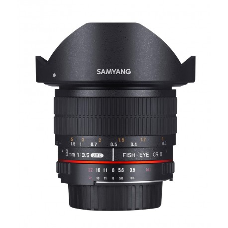 Fisheye Samyang 8mm F3.5 UMC CS II Objectif photo super grand angle