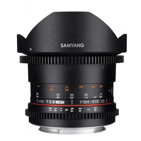 Samyang 8mm T3.8 UMC Fisheye CS II VDSLR II