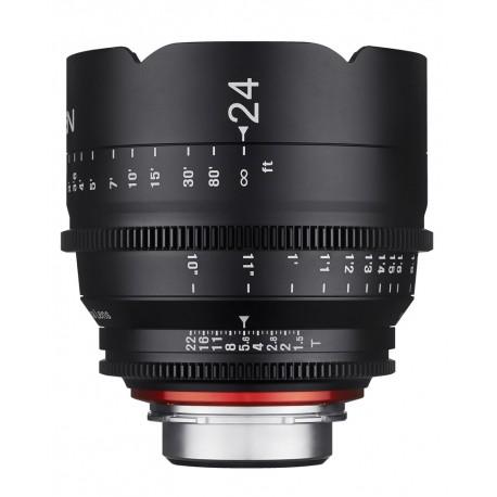 Xeen 24mm T1.5 Sony E / Echelle en mètres