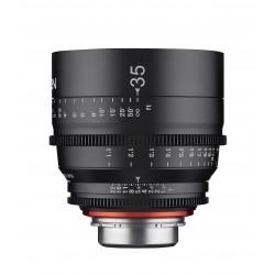 Xeen 35 mm T1.5 Sony FE / Echelle en mètres