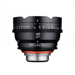 Xeen 16 mm T2.6 au choix 5 montures 2 échelles