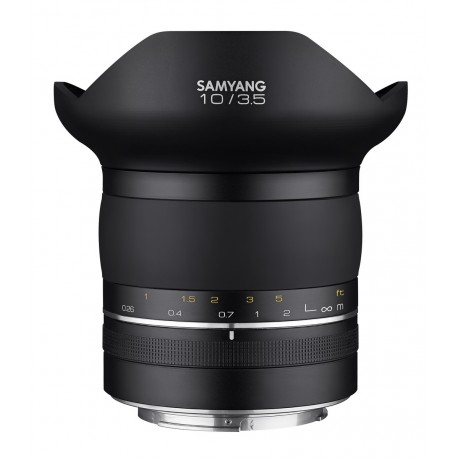 Samyang 10mm F3.5 rectiligne MF Premium XP