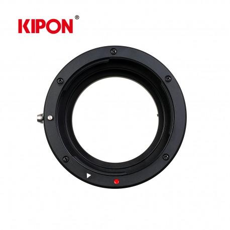 Bague mécanique pour optique Canon EF sur boitier Sony E