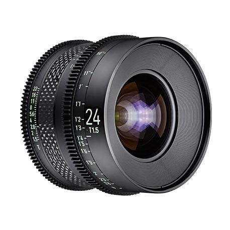 XEEN CF 24mm T1.5 echelle en METRE