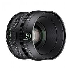 XEEN CF 50mm T1.5 echelle en METRE