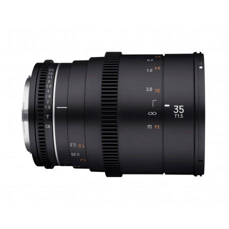 VDSLR 35mm T1.5 MK2