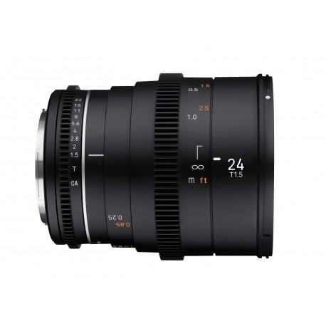 VDSLR 24mm T1.5 MK2