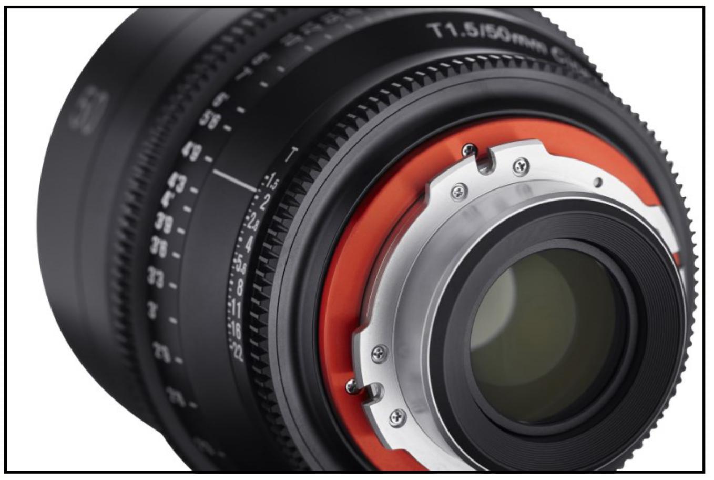 Xeen: 5 montures interchangeables Canon, Sony E, Arri PL, Nikon F, MFT